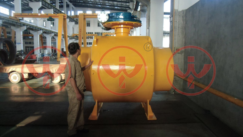 Factory live:Welded ball valve